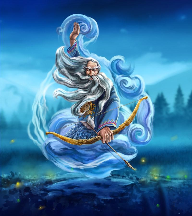 Стрибог - персонаж української міфології