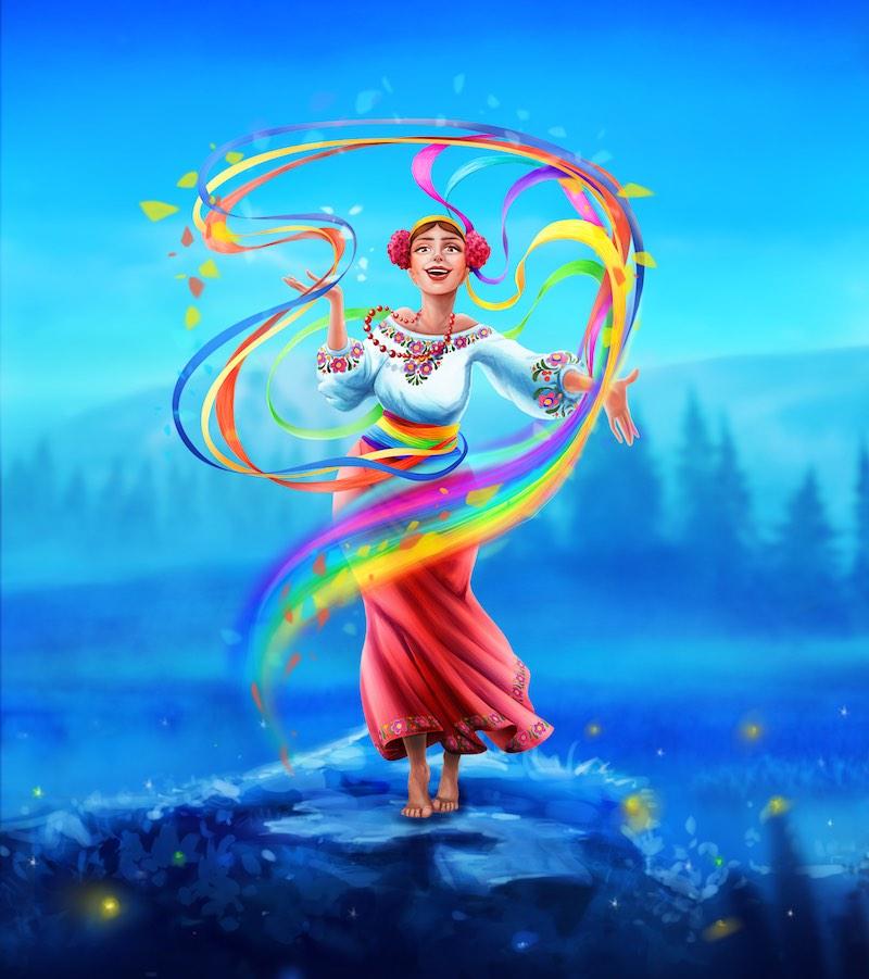 Веселиця - персонаж української міфології