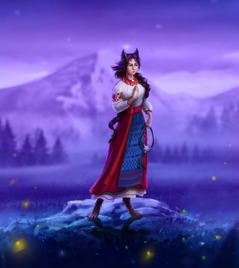 Вовкуня - персонаж української міфології