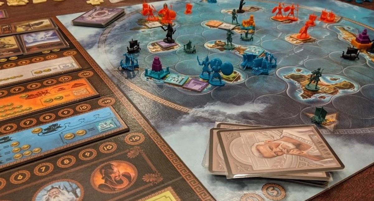 Cyclades - настільна гра